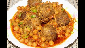National's Kofta Nahari Chana recipe in Urdu