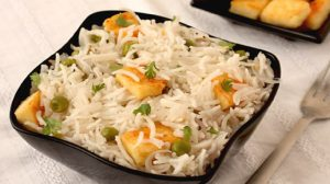 Mattar Paneer Pulao Recipe by in Urdu