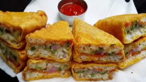 Pakora Sandwich