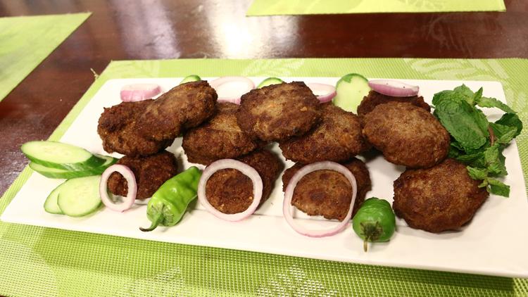 Resha Kabab (Shredded Beef Kebab)
