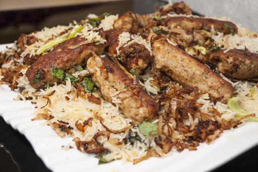 Seekh Kabab Biryani Recipe