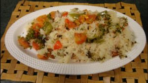 Spanish Chicken Pulao Recipe in Urdu