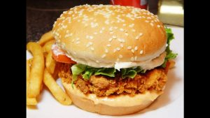 Spicy Zinger Burger Recipe in Urdu