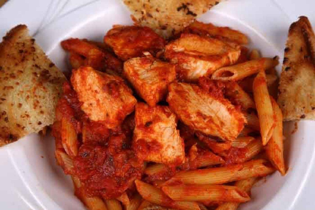 Spicy tomato chicken