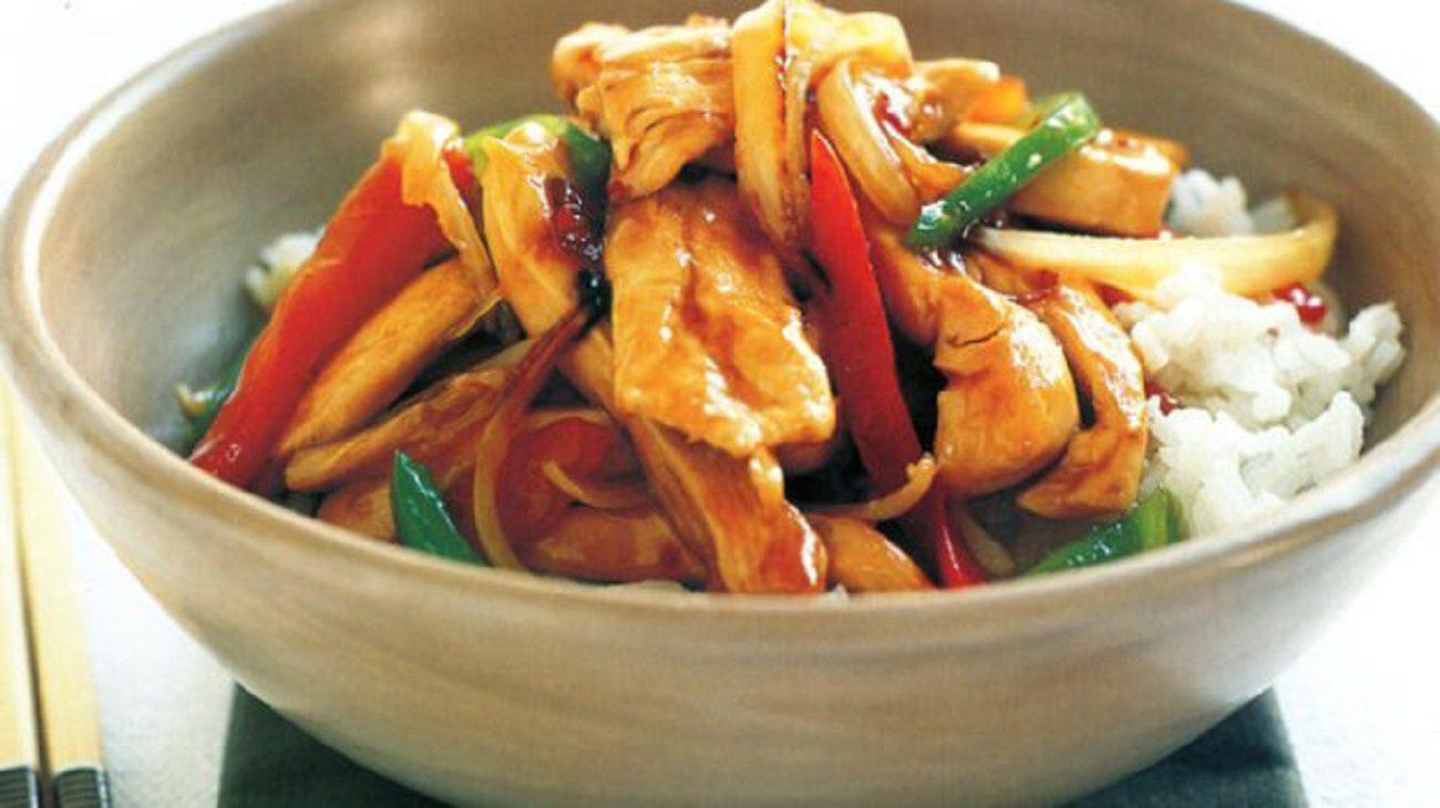 Vegetable Garlic Chicken Recipe