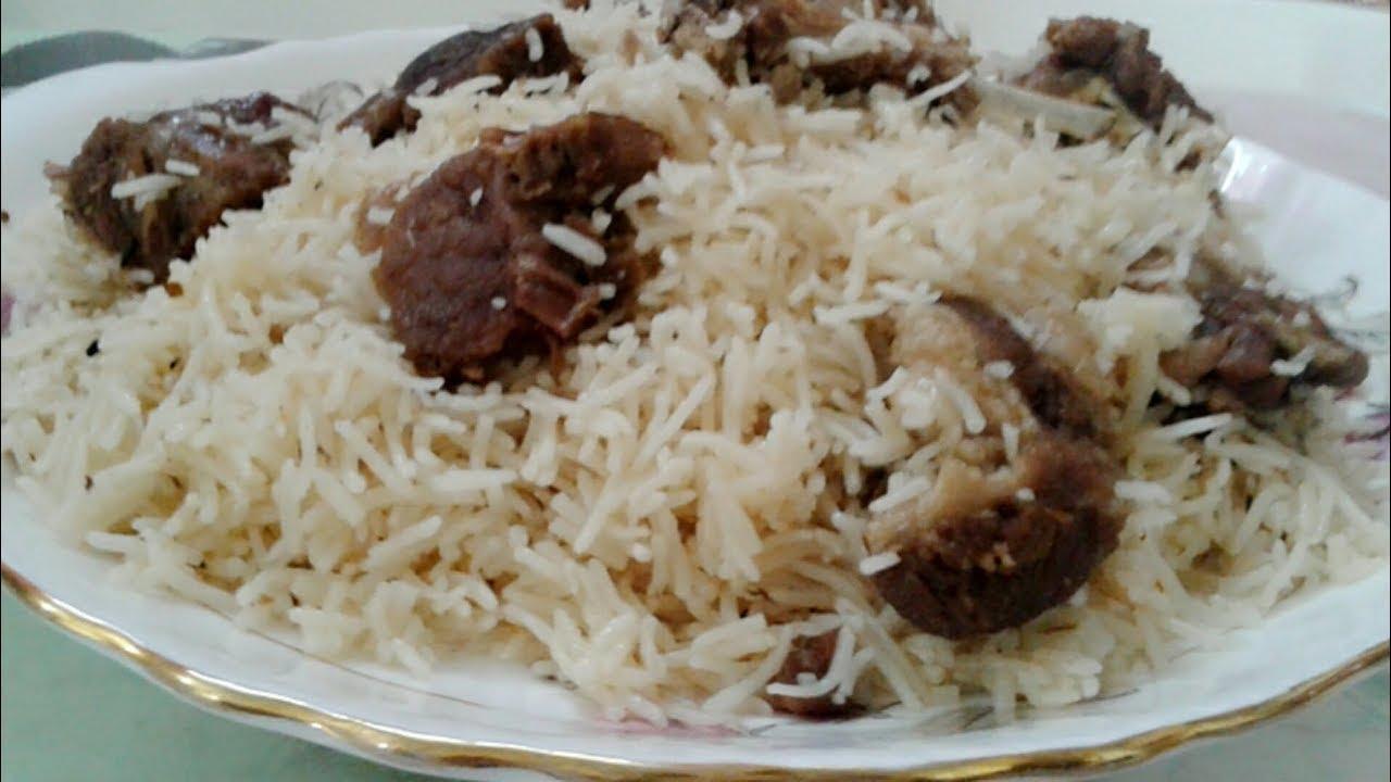 White Mutton Pulao Recipe