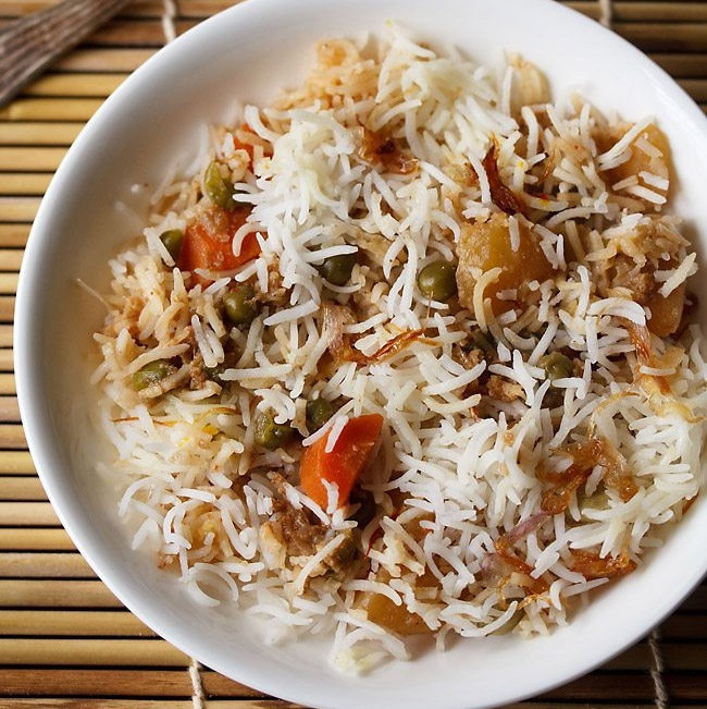 Veg Biryani Recipe In Urdu The Cook Book