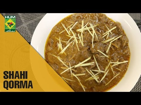 Quick Shahi Qorma Recipe Mehboob S Kitchen Masala Tv