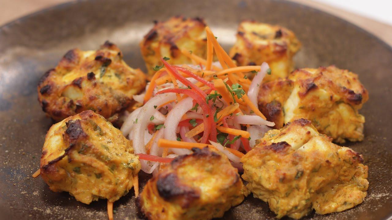 Lasuni Paneer Tikka Simple Vegetarian Khana With Chef Saurabh Sanjeev Kapoor Khazana The Cook Book