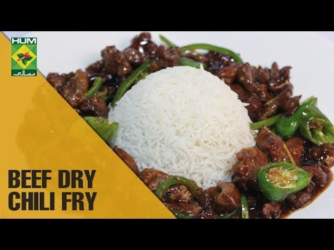 Beef Dry Chili Fry Mehboob S Kitchen Masala Tv Show Mehboob Khan The Cook Book