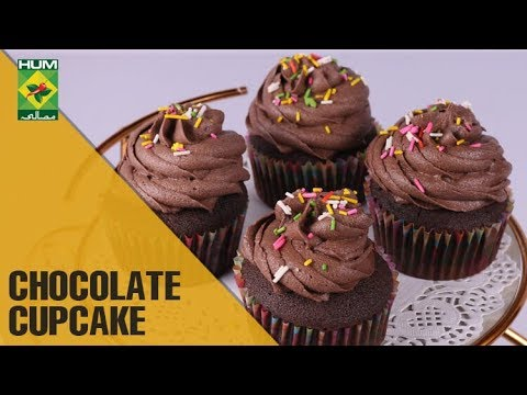 Super Moist Chocolate Cupcakes Evening With Shireen Masala Tv Show Shireen Anwar The Cook Book