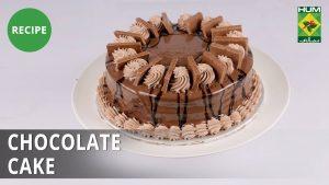 Chocolate Cake Recipe | Evening With Shireen |  Shireen Anwar | Dessert