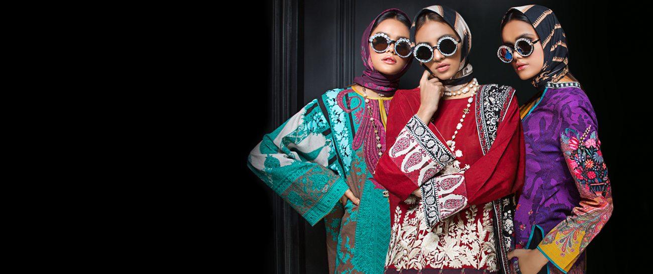 Sana Safinaz MAHAY WINTER'19  Winter Collection 2019