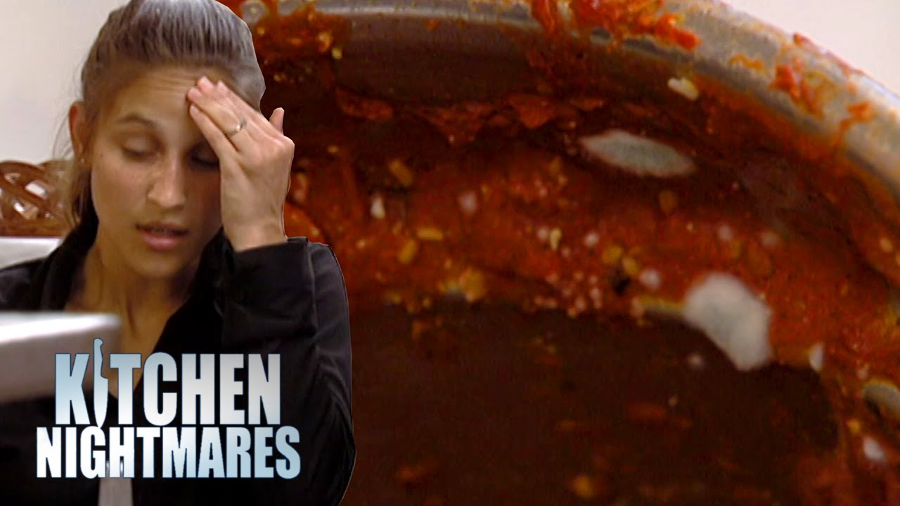 Waitress Confuses Mold With Basil Kitchen Nightmares The Cook Book