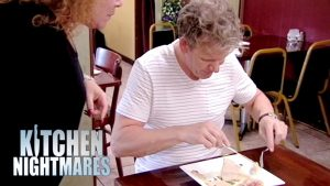 Ramsay Disgusted by Awful Food | Kitchen Nightmares