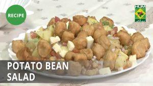 Potato Bean Salad Recipe | Tarka | Desi Food