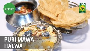 Puri Mawa Halwa Recipe | Tarka | Desi Food