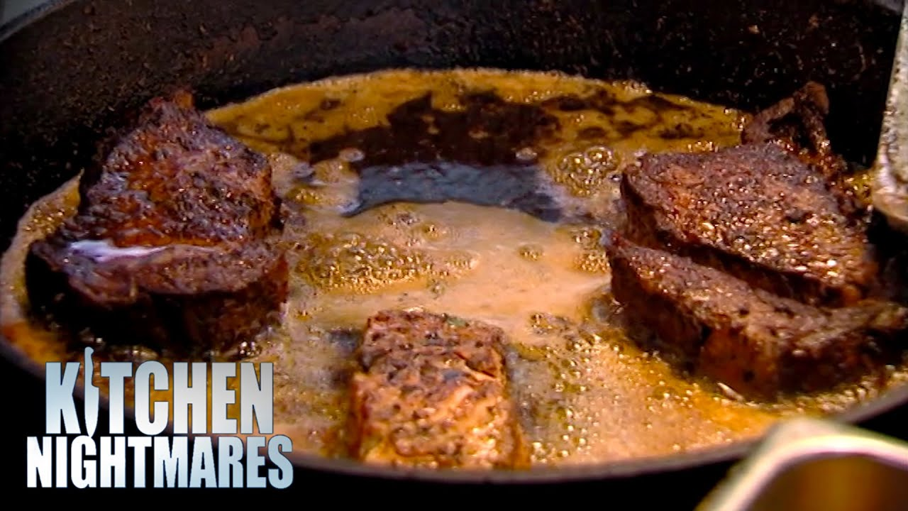 Chef Cooks PescatarianFood With Red Meat | Kitchen Nightmares