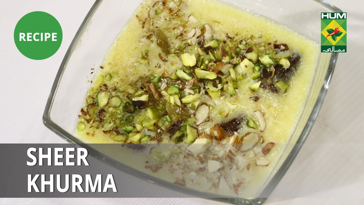 Sheer Khurma Recipe| Food Diaries |  Zarnak Sidhwa | Dessert