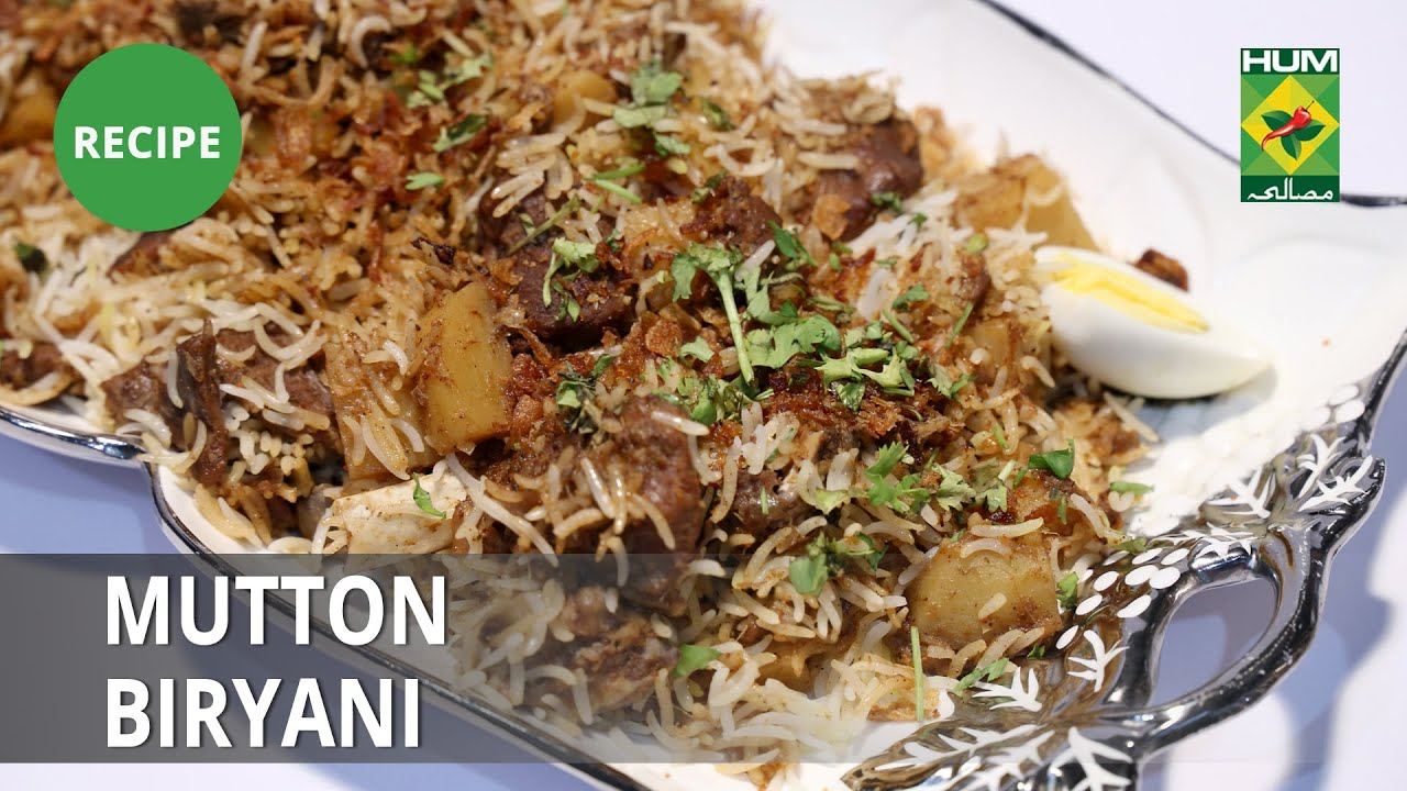 Mutton Biryani Recipe | Food Diaries |  Zarnak Sidhwa | Desi Food
