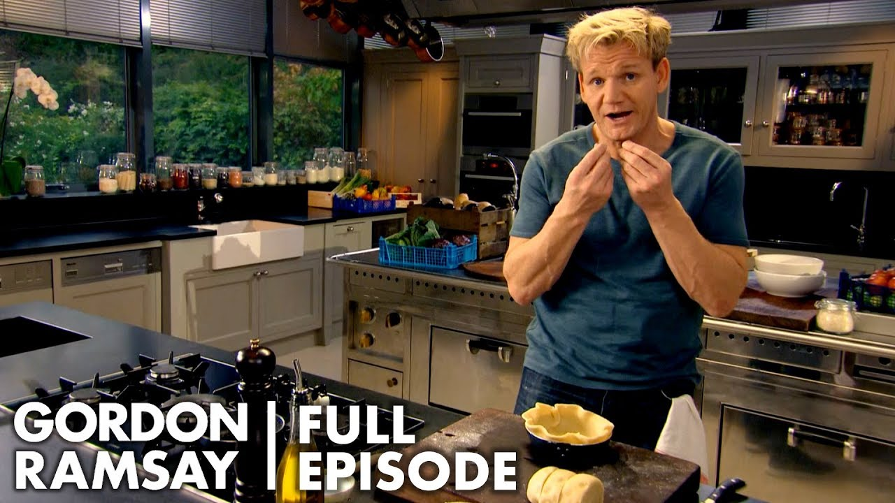 Gordon Ramsay Shows How To Be A Better Baker   Ultimate Cookery Course