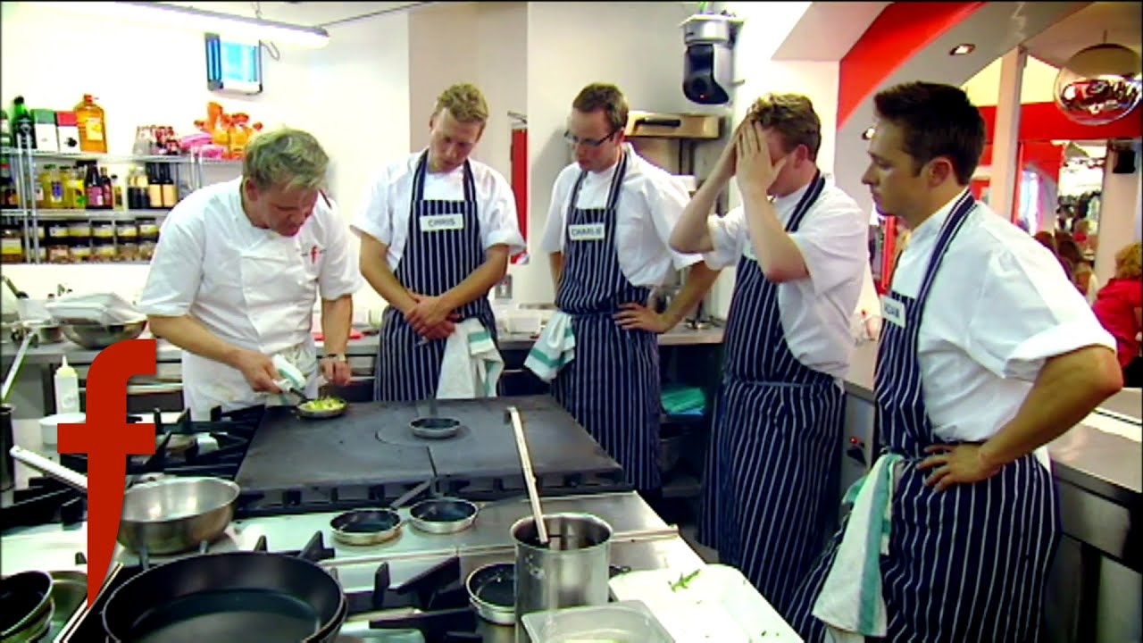 4 Ex-Army Officers Cook With Ramsay | The F Word