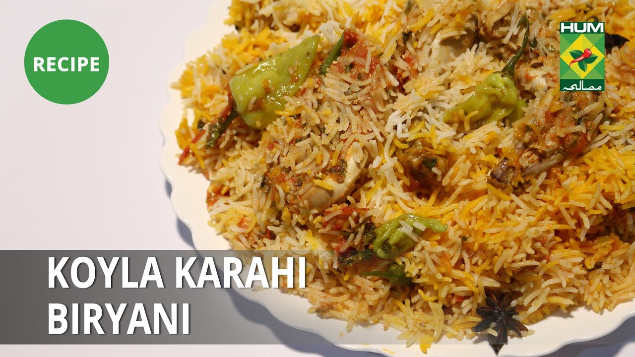 Koyla Karahi Biryani Recipe | Lazzat | Samina Jalil | Fusion Food