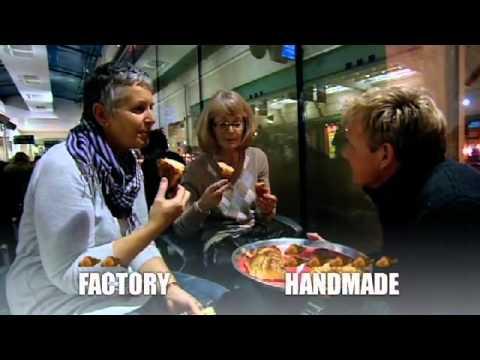 Handmade Croissant v Factory Made Croissant - Gordon Ramsay