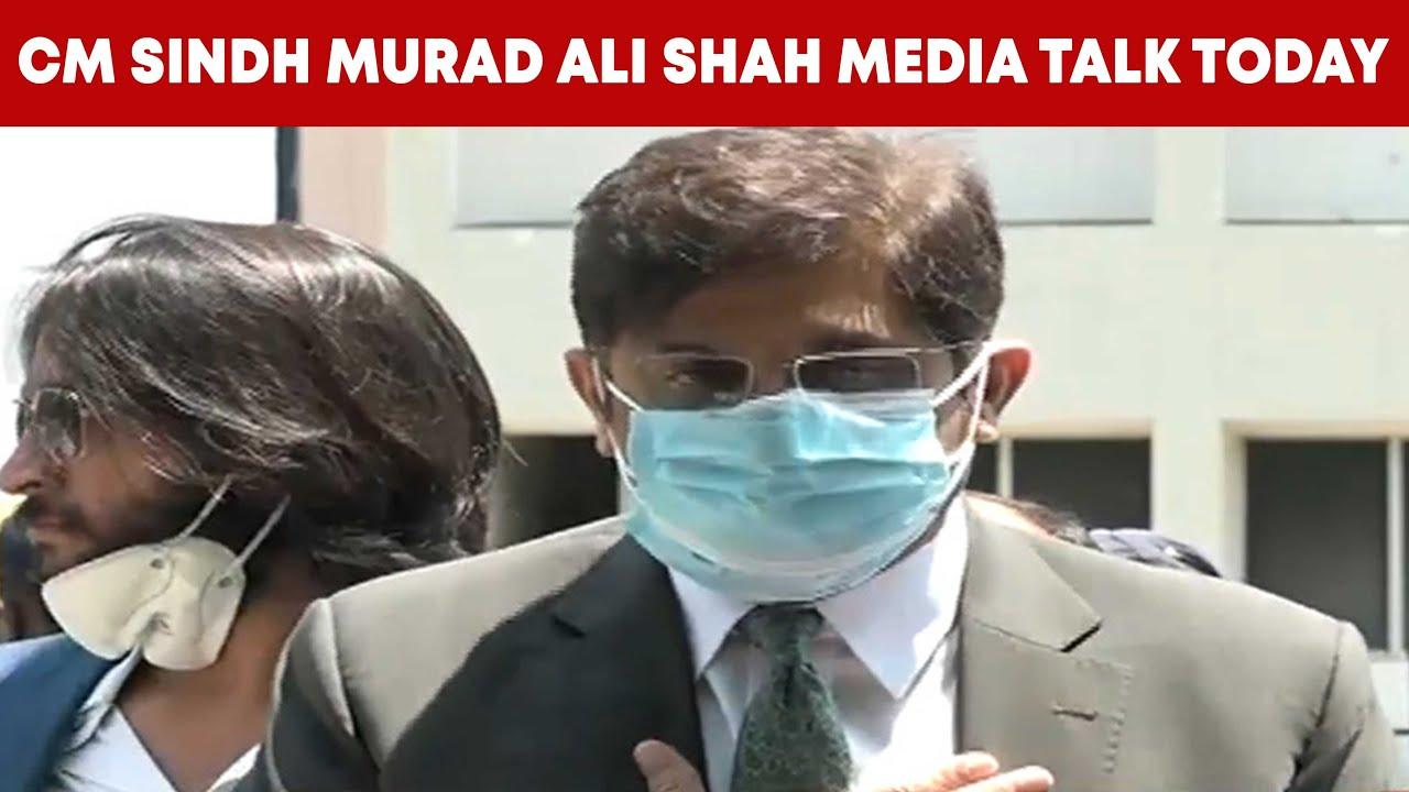 Murad Ali Shah Media Talk in Karachi | MM News TV