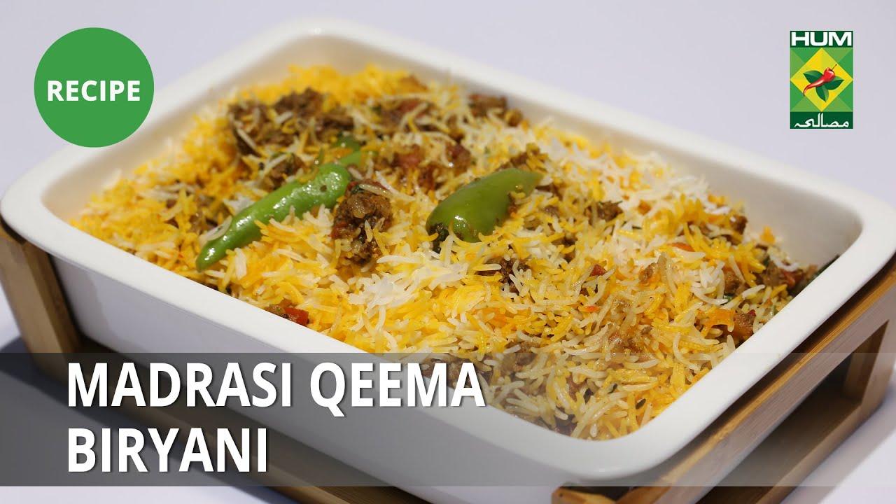 Madrasi Qeema Biryani Recipe | Lazzat | Samina Jalil | Desi Food