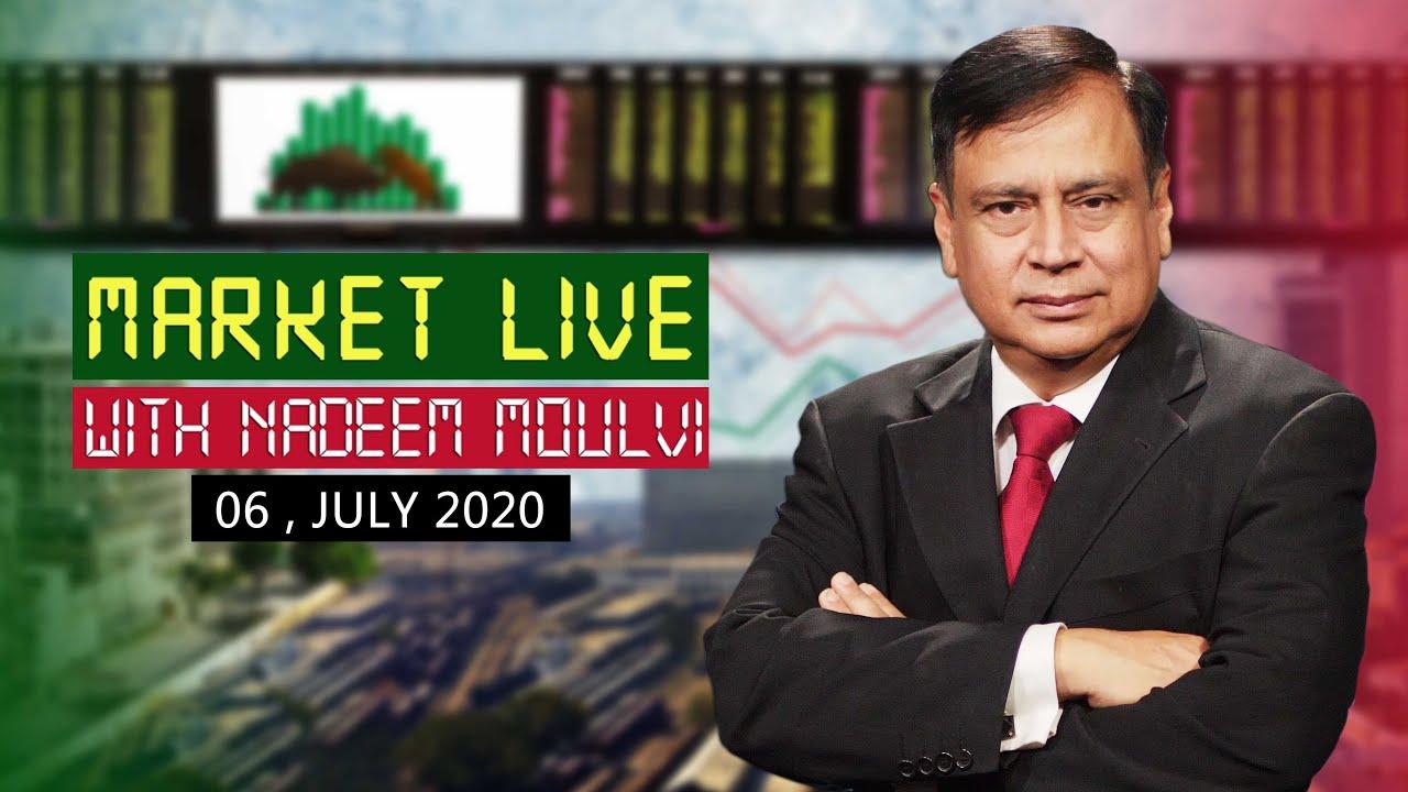 Market Live With Nadeem Moulvi   6 July 2020
