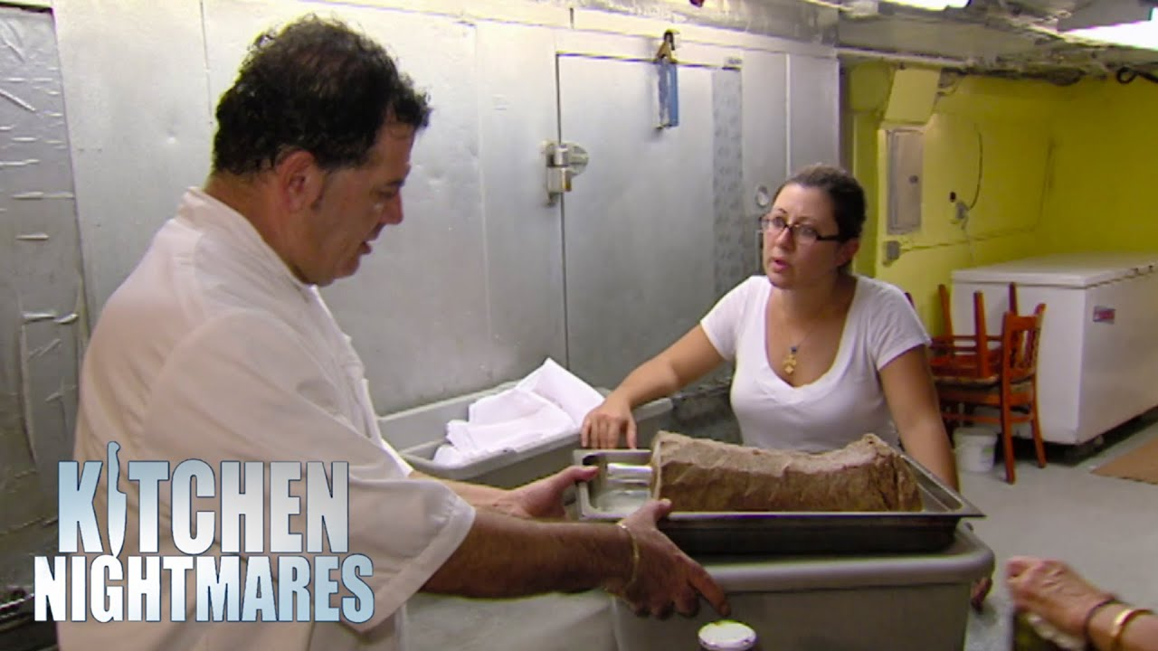 Owners Forced To Clean Their Fridges | Kitchen Nightmares