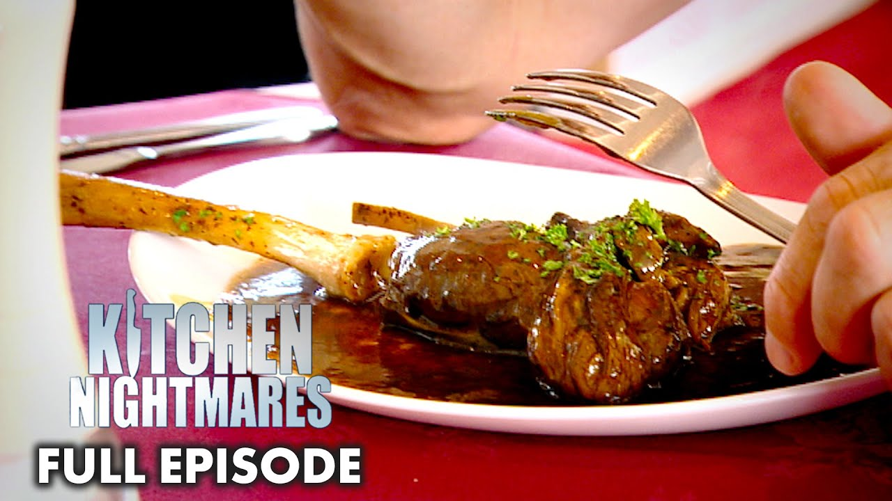 Gordon Ramsay Served Unrefrigerated, Vacuumed Sealed Lamb Shanks | Kitchen Nightmares
