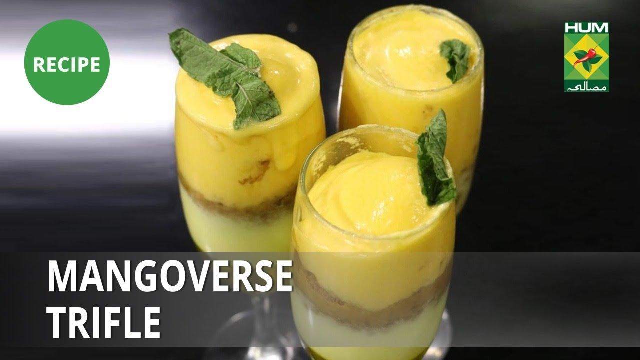 Mango verse Trifle Recipe   Lively Weekends   Dessert