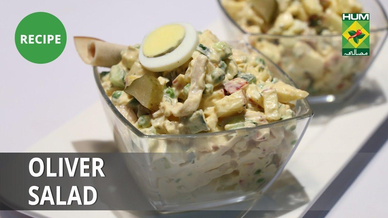 Olivier Salad Recipe  Food Diaries    Zarnak Sidhwa   Continental Food
