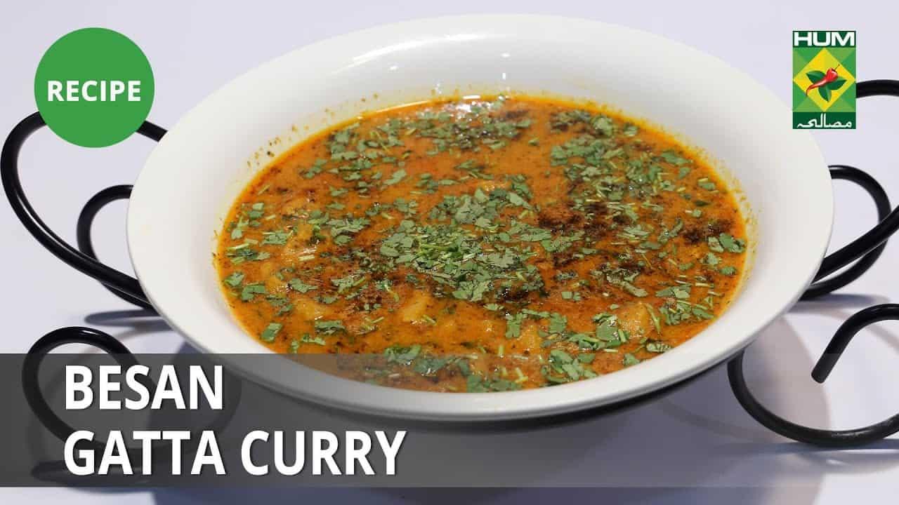 Besan Gatta Curry   Lazzat   Samina Jalil   Desi Food