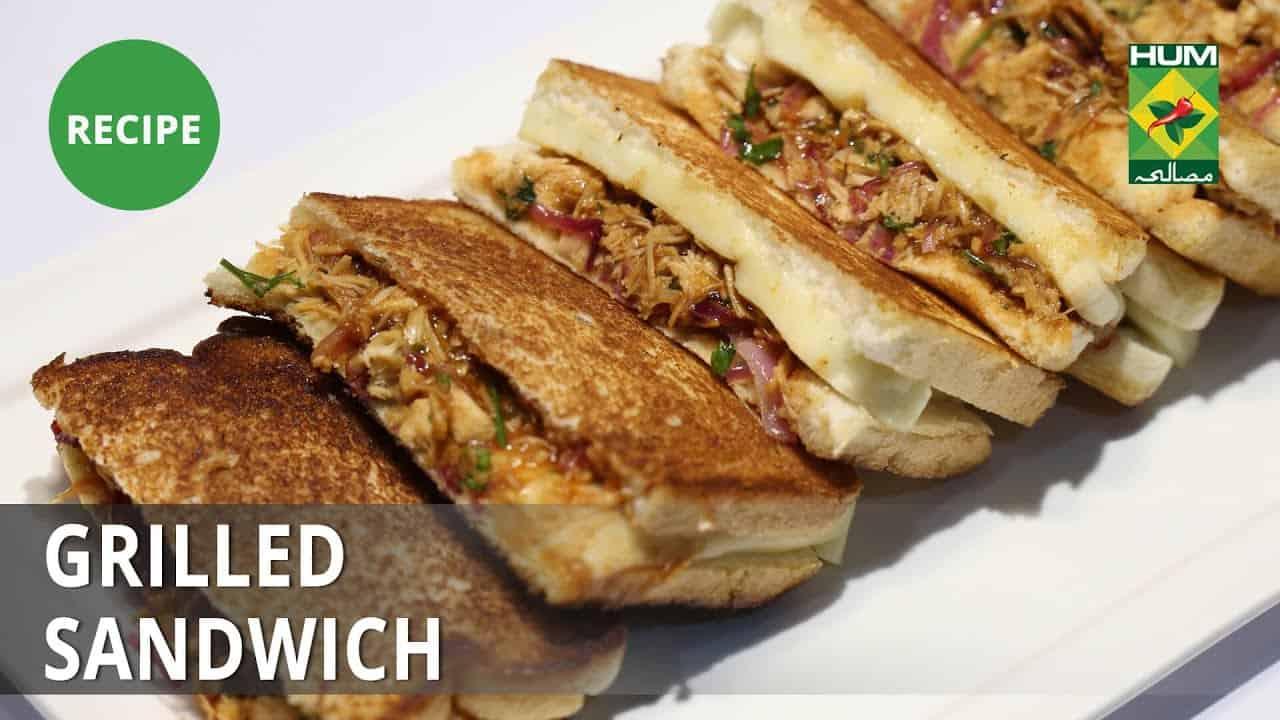 Grilled Sandwich Recipe  Food Diaries    Zarnak Sidhwa   Fast Food