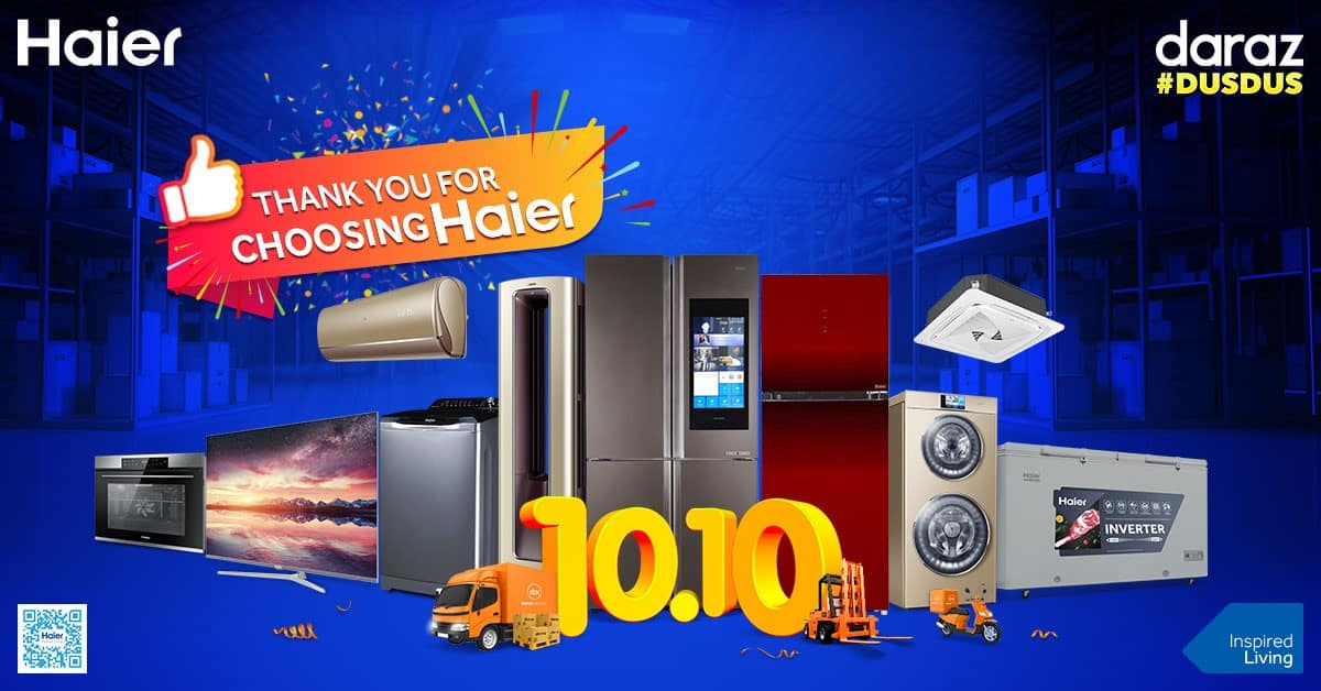 Thanks for Choosing Haier