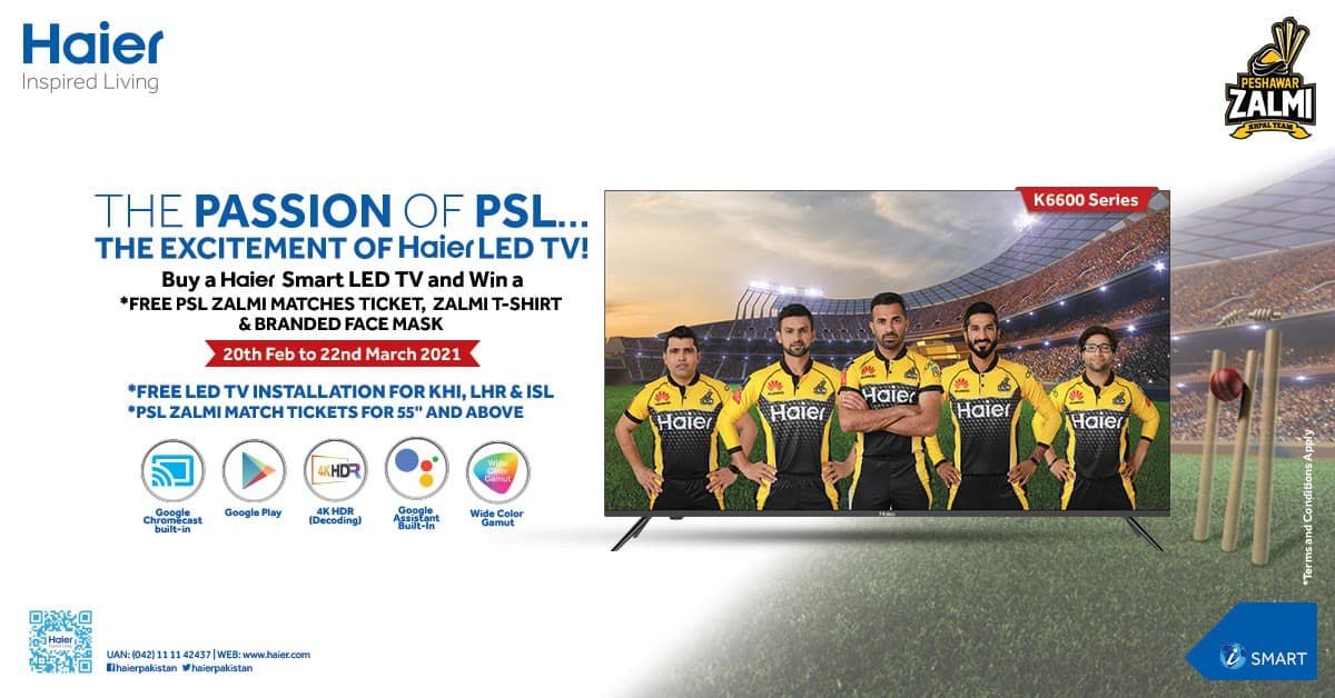 The Passion of PSL – The Excitement of Haier LED TV!